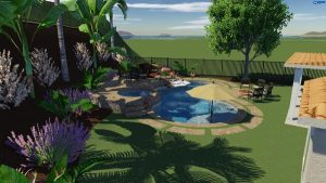 rendering of pool
